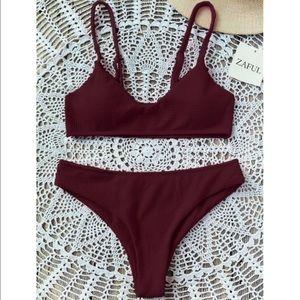 ✨3/$30✨ Zaful High Cut Bralette Bikini